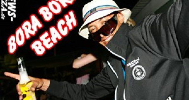 Ibiza / Playa de Bossa: BORA BORA … ist wahrscheinlich die coolste Beach Bar der Welt. Party pur – Ibiza ist die Insel die nie schläft!