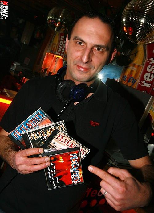 GM: DJ Markus spielte 1A Sahne Musik zur ersten Feten Hit´s Party 2007 @B1
