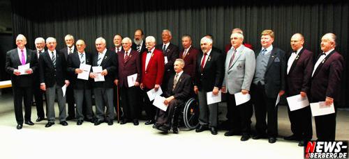 Bielstein: Jubilarehrung des ´Sängerkreis Oberbergisch Land´ in der Realschule
