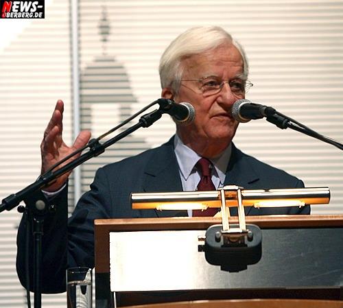 Wiehl: Dr. Richard von Weizsäcker (86) begeisterte 750 Zuschauer beim Homburger Sparkassen Forum