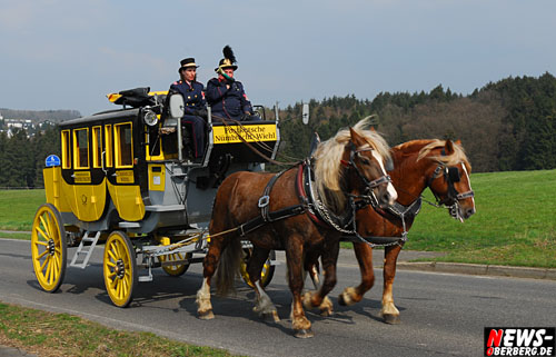 Homburger Land: Daily Moments! Ostermontag 2007 – Oberbergische Postkutsche zwischen Nümbrecht und Harscheid. Die Schönheit der Homburgischen Landschaft