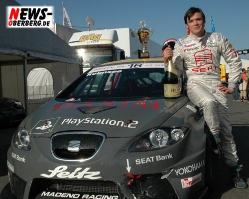 Hockenheim: Bastian Kolmsee (aus Wiehl) meldet sich beim Seat Leon Supercopa mit einem tollen Sieg zurück!!!