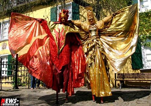 Nümbrecht: Götterwetter, Hexen, Feen und weitere mystische Gestalten! Tausende Besucher tummelten sich bei herrlichem Sonnenschein auf dem Mittelalterlichen Märchenmarkt