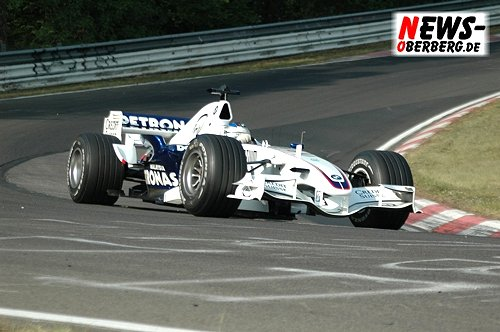 Motorsport.NEWS-on-Tour.de (Nürburgring) Nick Heidfeld! Mit dem BMW.Sauber F1.06 durch die ´Grüne Hölle´ @BF Goodrich Langstrecken Meisterschaft