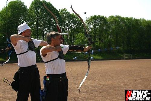 Lindlar: Auf dem Lindlarer Sportplatz trug der Verein der Bogensportfreunde Lindlar die Vereinmeisterschaft aus