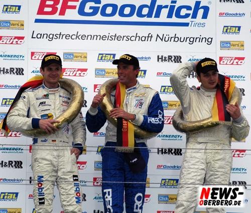 Nürburgring: Hattrick!!! 3. Sieg für Land Motorsport bei der 38. Adenauer ADAC Rundstrecken-Trophy! Präsentation Team Live-Strip.com Racing