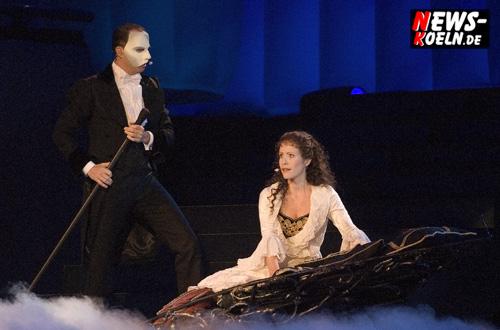 Kölnarena: Vorpremiere ´Best of Musical 2007!´ Phantom der Oper – Evita – Jesus Christ Superstar – Mozart – und und …