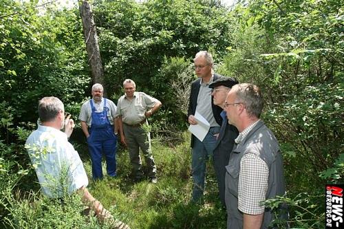Waldbröl: Chance für den oberbergischen Wald nach Kyrill! Landtagsabgeordneter Dr. Gero Karthaus informierte über ´Initiative Niederwald´