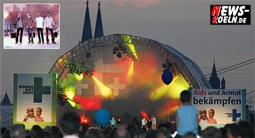 Köln: 31. Deutscher Evangelischer Kirchentag mit über 70.000 Zuschauern!! Wise Guys – Open Air Konzert!