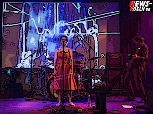 Köln: ´Hölderlin Sound im Stadtgarten!´ Rainmaker als opening act! Trance-Groove und Artpop begeisterte Gäste