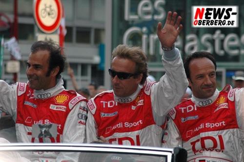 Le Mans (Frankreich) Spektakuläres 24 Stunden Rennen! 75. Auflage des ´härtesten Autorennen der Welt!´ Audi siegt souverän vor Emporkömmling Peugeot