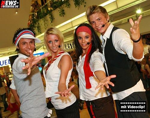 EKZ GM: (Videoclip!) Castingband – BeFour – wollen mit ´Gummersbacher Hilfe´, dank Choreograph Andre Kasel (Dance4Fans) in die Charts