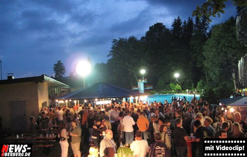 Poolparty Bergneustadt - Ambiente -