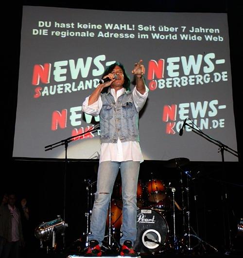 Jürgen Drews ´Live on Stage´ @Olpe Ole Foto: `Der Sasse´ www.NTOi.de