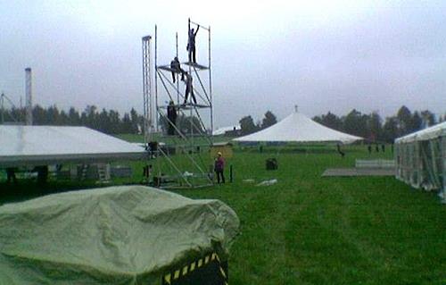 Olpe Ole!! Das größte Open-Air Sommerfest des Jahres im Sauerland ´nimmt bauliche Formen´ an! NEWS-Sauerland.de war vor Ort
