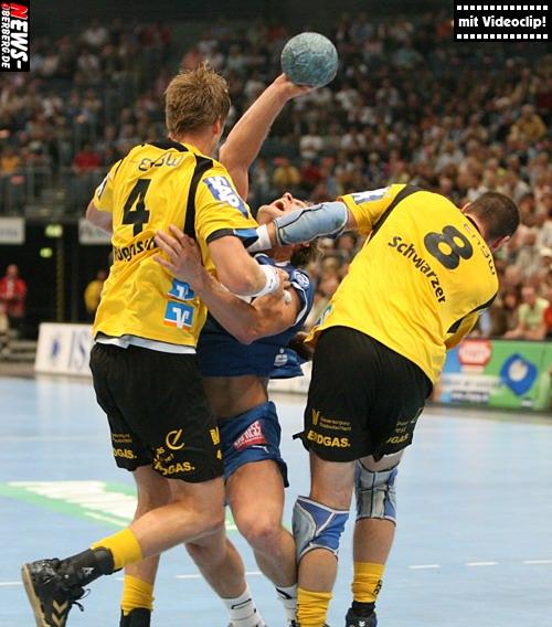 Handball.NEWS-on-Tour.de: (Videoclip!) Kölnarena wird zum VfL Saisonauftakt vor 8.576 Zuschauern zur ´Höhle des Löwen!´ VfL Gummersbach – Rhein-Neckar Löwen 23:32