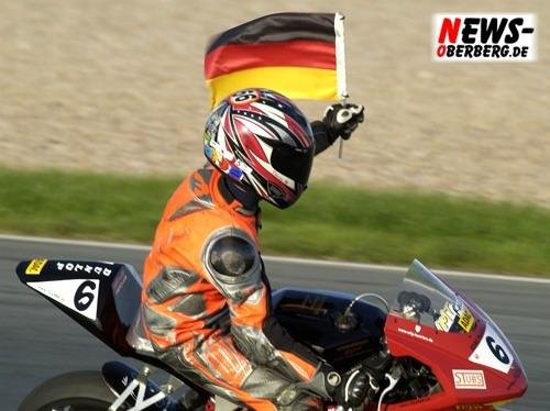 Motorsport.NEWS-on-Tour.de: (Sachsenring) Florian Alt ist Deutscher Meister im ADAC Minibike Cup Nachwuchsklasse