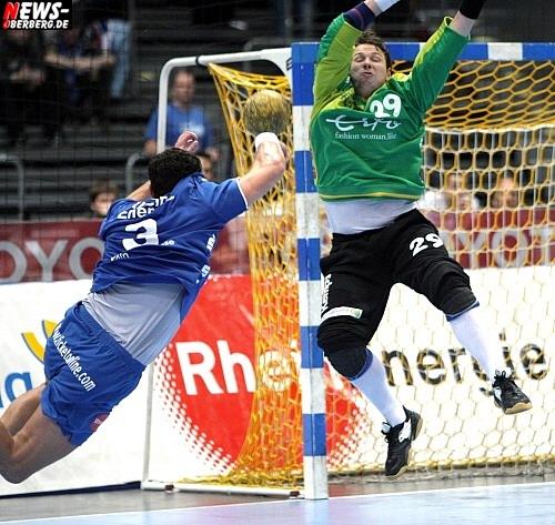 Handball.NEWS-on-Tour.de: (Bundesliga) VfL stutzt der HSG die Hörner!! VfL Gummersbach – HSG Nordhorn 34:32 (14:13) @Kölnarena (50 HQ-Fotos + PK Video)