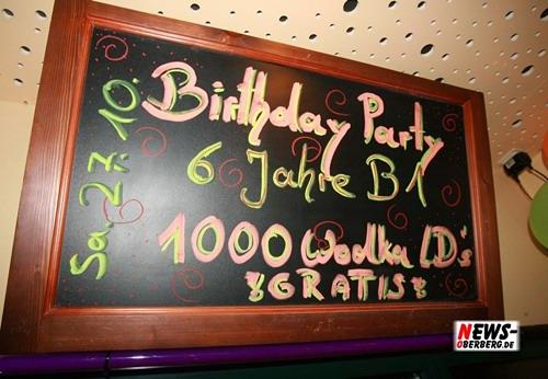 B1.NEWS-Oberberg.de: (Final HQ-Double Fotoshooting mit fast 200 Bildern) 6 Jahre B1 (Samstag 27.10.) / AUSNAHMEZUSTAND @B1 zur 3-4-1-Party (Freitag 26.10.)