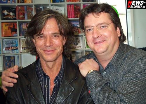 Jürgen Drews (l.) und Manager Kurt Kokus (r.) Foto: `Der Sasse´ www.NTOi.de