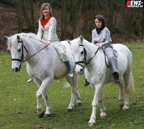 NIC - Einen Stern (Videoclipdreh: Zwei weiße Pferde) Foto: ´Der Sasse´ www.ntoi.de