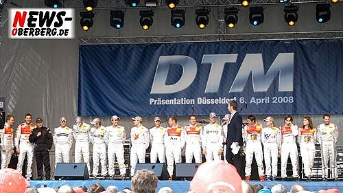 Motorsport.NEWS-on-Tour.de: (Final UPDATE mit 60 HQ-Bildern!) DTM-Präsentation 2008 vor Rekordkulisse! Ralf Schumacher und Co. präsentieren sich in der Landeshauptstadt vor 200.000 Fans