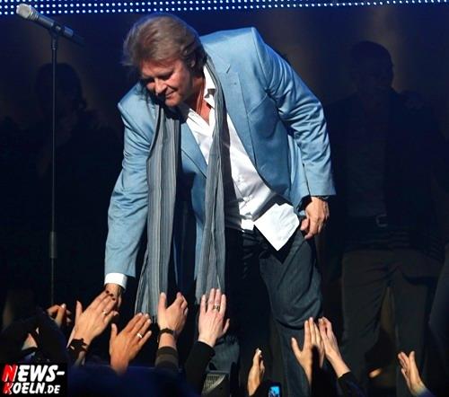Köln: Rund 27.000 Fans feierten ´Howie-Comeback´ in der Kölnarea! Zwei ausverkaufte Howard Carpendale Konzerte faszinierten das Publikum