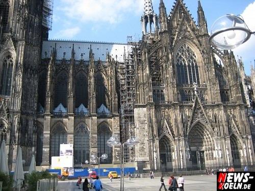Wahrzeichen der Domstadt, der Kölner Dom (offizieller Name Hohe Domkirche St. Peter und Maria). Foto: Wolfgang Sasse [ Foto+TV Agentur NTOi.de ]