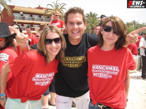 Partynator ´Peter Wackel´(Manchmal möchte ich schon mit Dir) Mallorca 2008