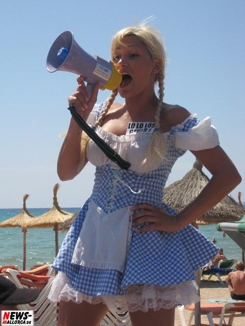 Playa de Palma: (Mallorca) Lo Lo Los Gehts ! Promoterin
