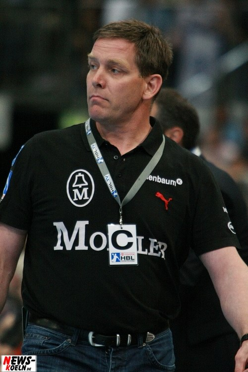 Alfred Gislason (Trainer VfL Gummersbach)