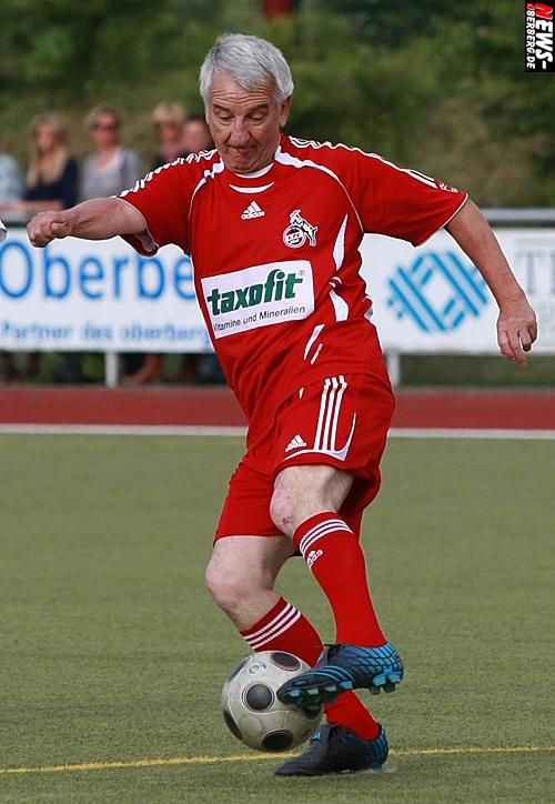 Hennes Löhr (65) Amtierender Rekordtorschütze des 1.FC Köln (166 Toren - 381 Spiele)