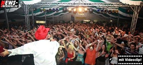 Partykünstler Markus Becker ´Aloha heja he´ @Mega Mallorca Party 2008 (100 Jahre SSV Bergneustadt)