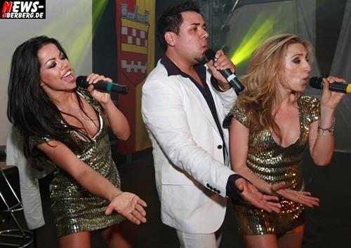 Hot Banditoz - Fernanda Brandao, Gabriela Gottschalk (Ex-Mitglied der Super Moonies) neuer Sänger José Valdes @Mega Mallorca Party Bergneustadt - 100 JAHRE SSV