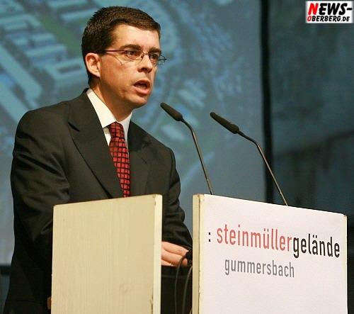 Frank Helmenstein (Bürgermeister Stadt Gummersbach) Rede - Vortrag @Steinmüller Projekttag 2008