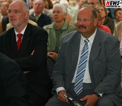 Bürgermeister der Stadt Bergneustadt - Gerhard Halbe @Steinmüller Projekttag 2008