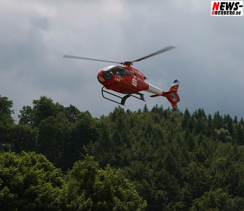 Sparkasse - LBS - Heli - Helikopter - Hubschrauber @Steinmüller Projekttage 2008
