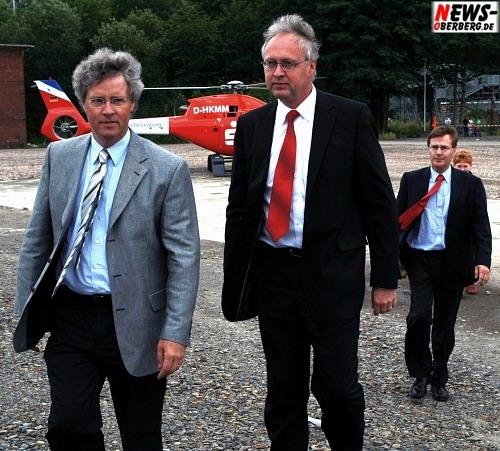 Klaus Peter Floßbach (CDU) und Gero Karthaus (SPD) @Steinmüller Projekttage 2008