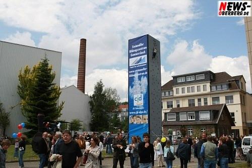 Europas höchster Kletterturm @Steinmüller Projekttag 2008