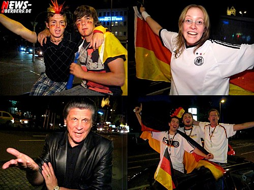 Video Prognose zum Fußball EM 2008 Gruppenspiel - Deutschland vs. Kroatien - @Gummersbach ( Oberbergischer Kreis)