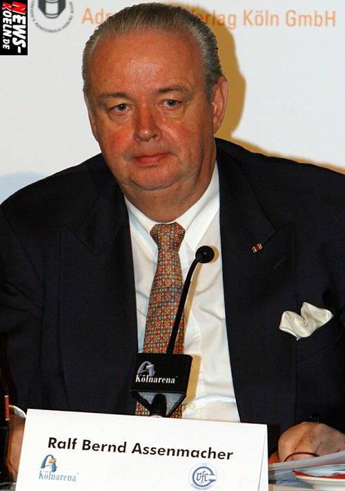Ralf Bernd Assenmacher (Vorsitzender der Geschäftsführung der Kölnarena GmbH)