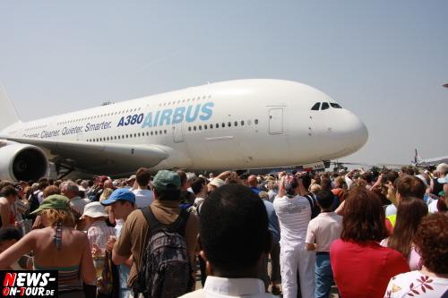 A380 Airbus - Flughafen Berlin Schönefeld - Internationale Luft und Raumfahrtmesse