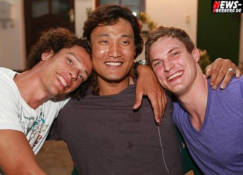 Kyung-Shin Yoon (m.) Fank von Behren (l.) und Michael Spatz (r.) yoon_abschied_bit_boulevard_gm