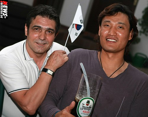 Nico (Bit Boulevard) und Kyung-Shin Yoon (Abschied 2008)