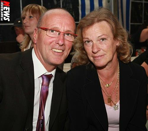 Alfred Bremen (Tanzstern Kosmos) und Ehefrau Caroline Bremen @Niederndorf Festzelt