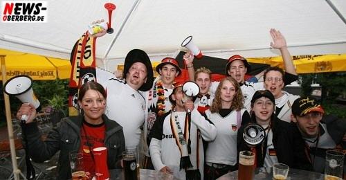 Deutschland vs. Kroatien - Unter Deck - Bergneustadt