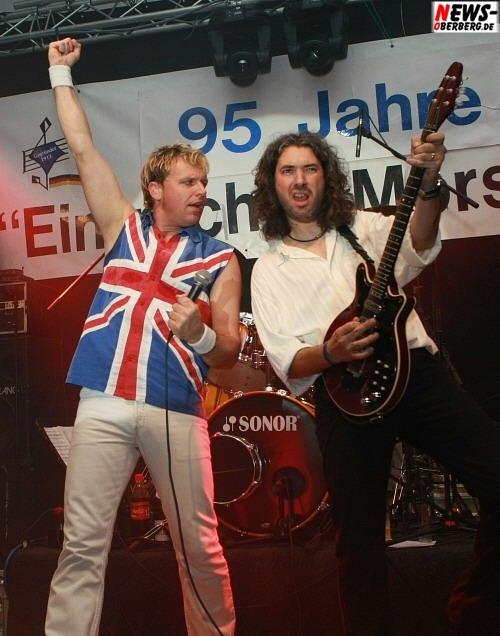 The Queen Kings (Sänger Mirko Bäumer) 95 Jahre MGV Eintracht Morsbach