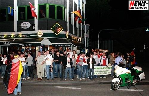 B1 Public Viewing - Fußball EM 2008 - Deutschland - Österreich