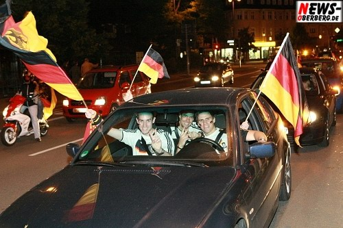 Autocorso Fußball EM 2008 - Gummersbach Fans