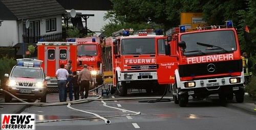 Feuerwehr Bergneustadt Einsatz Südring